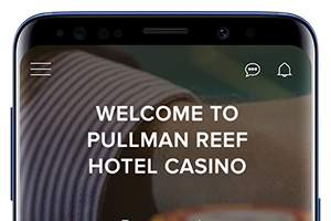 Homepage Android Hotel App