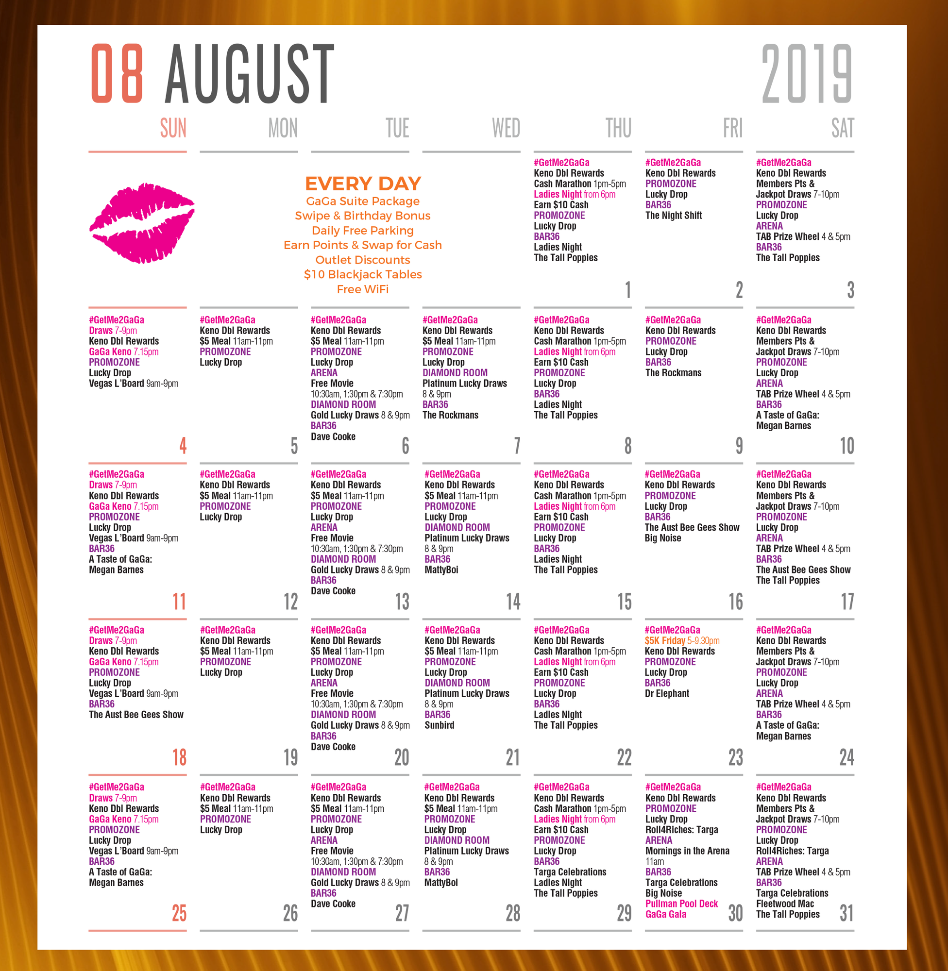 August Entertainment Guide