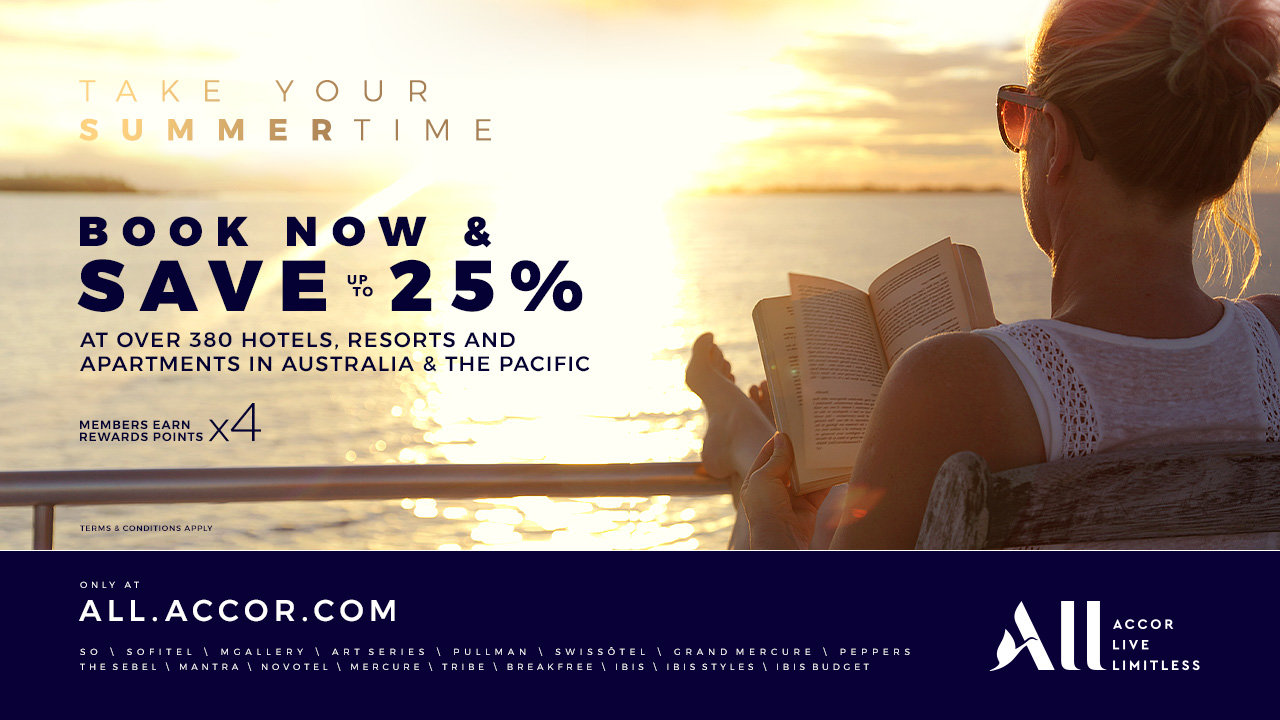 Accor Summer Book Now & Save up to 25%